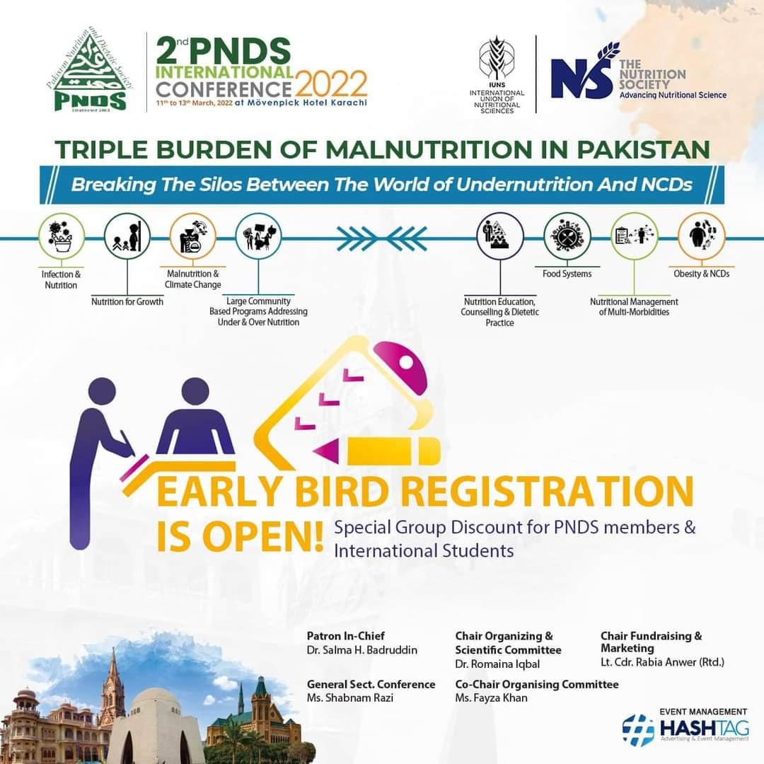 2nd PNDS International Conference 2021 Triple Burden of Malnutrition in Pakistan