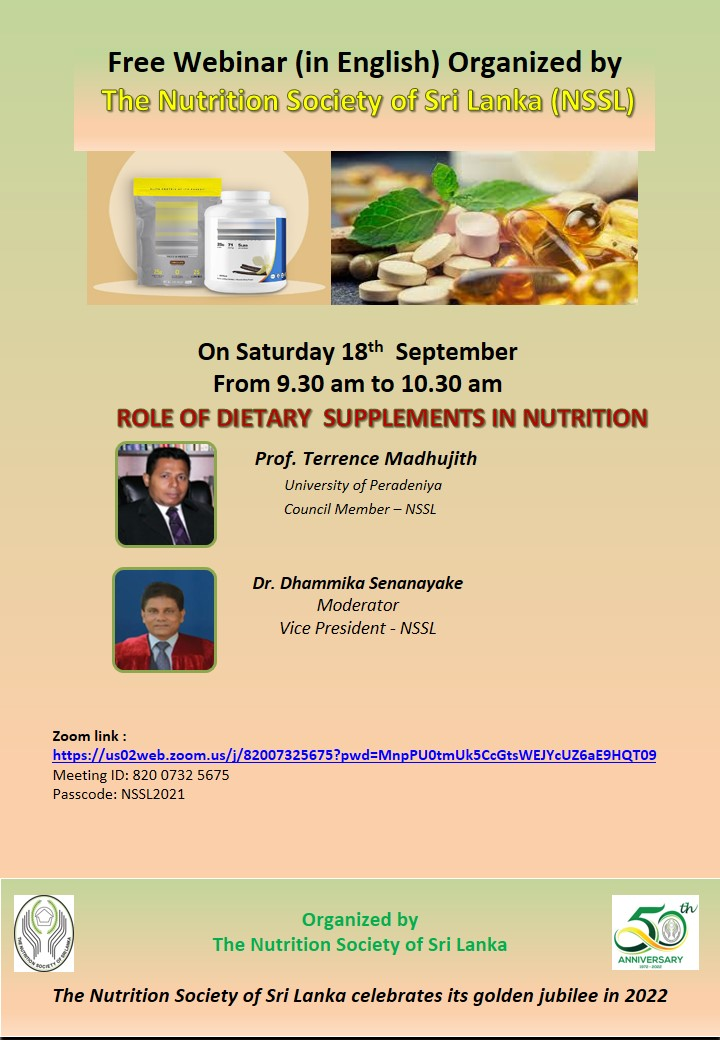 Role of Dietary Supplements on Nutrition